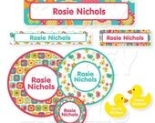 Baby Label Pack, All Things Spring