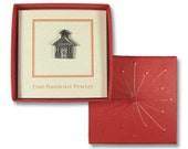 Liberty Red Lapel Pin Gift Box