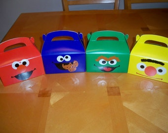 SESAME STREET FAVOR boxes (set of 12)