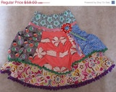 ON SALE Meet me at the Mall Skirt - Farbenmix Insa design - size 6