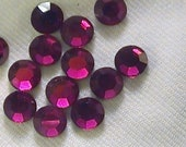 Sale Ruby 2028 Swarovski Elements Rhinestones 20ss Hot Fix 10 Piece