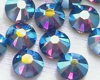 Amethyst AB 2058 Swarovski Elements Rhinestones, 16ss Flat Back 36 pieces