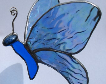 Beautiful Blue Butterfly No. 8