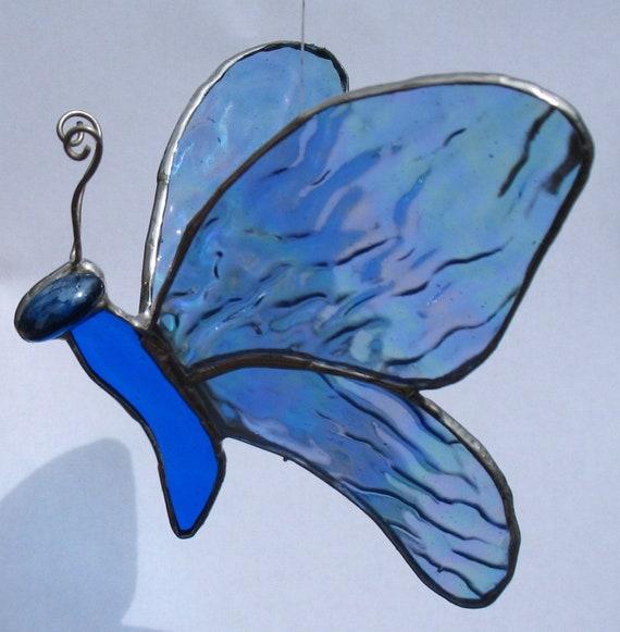 Beautiful Blue Butterfly No. 8