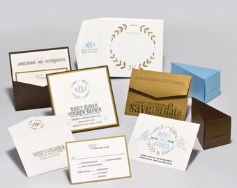 Wedding Invitations - Darcy Collection