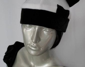 Panda Bear Fleece Hat
