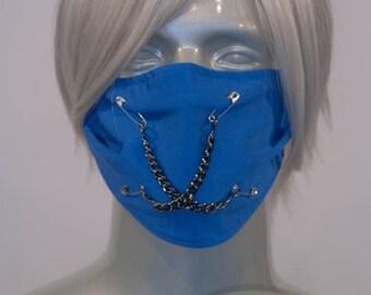 Blue J-Rock Surgical Mask