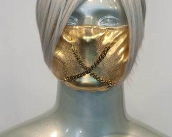 Gold J-Rock Surgical Mask