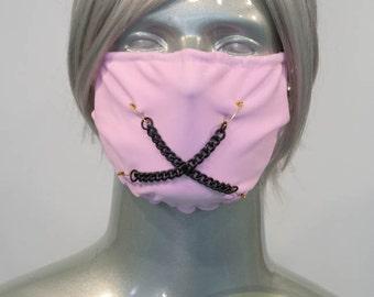 Light Pink J-Rock Surgical Mask
