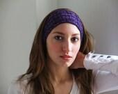 NEW Handknit Cabled Headband