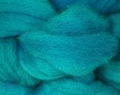 Roving, BFL, Turquoise