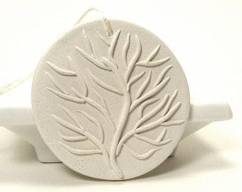 Sea Fan Coral Decorative Ornament - Glide / Wall Pendant, Drawer Pull, Ocean Coral, Underwater