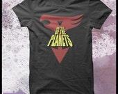 Battle of the planets tshirt men's Gatchaman tshirt