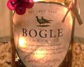 Lighted Wine Bottle Bogle Cab