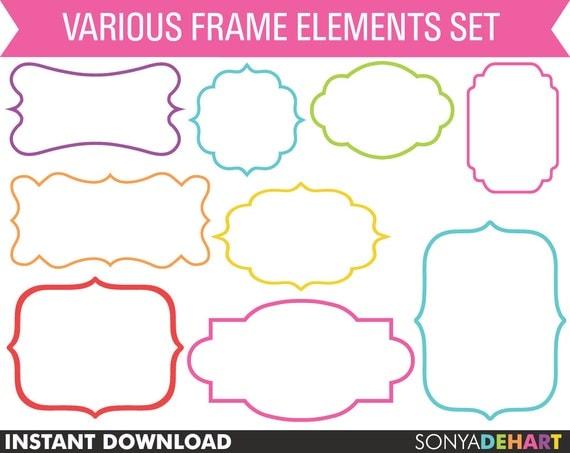 digital clipart frames free - photo #35