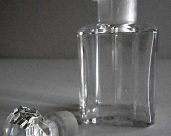 Vintage Crystal Baccarrat Perfume Bottle signed