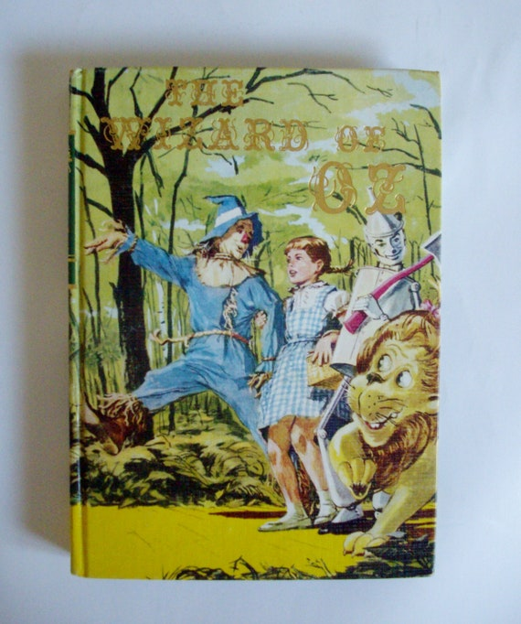 Vintage Book Wizard of Oz Classic Illustrated