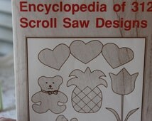 Vintage Encyclopedia of 312 Scroll Saw Designs by John LaForge