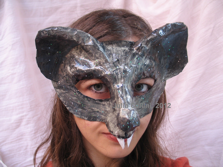 Rat Mask Costume by FairytaleStore on Etsy