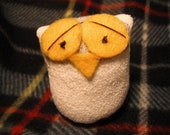 "2.5"" Plush Baby Sock Owl"