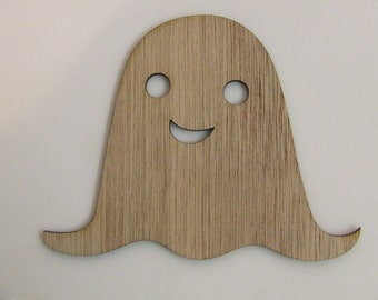 Ghost Wood Cut Out - Laser Cut - Halloween