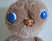 """Vintage ET Movie Character! He's a Large 13"""" Stuffed Plush Animal Collectible Toy. Great Condition.From the1980s E.T. Extra Terrestrial film"""