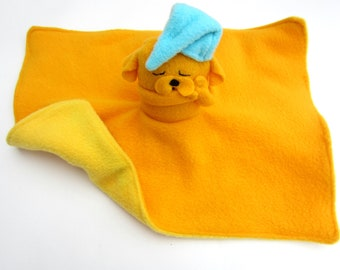 Adventure Time Jake Safety Blanket and Plush: Baby Blanket