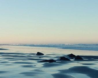 Oregon Beach Photography - Beach Photograph - Ocean - Beach Cottage - Fine Art Photograph - Landscape Photography - Teal Blue Home Decor