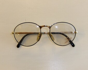Vintage Carrera Round Eyeglasses -- New Old Stock