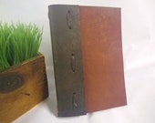 Leather hand made book cover- Bible teach, gods love, yearbook, songbook, Jeremiah book- order now in time for new study
