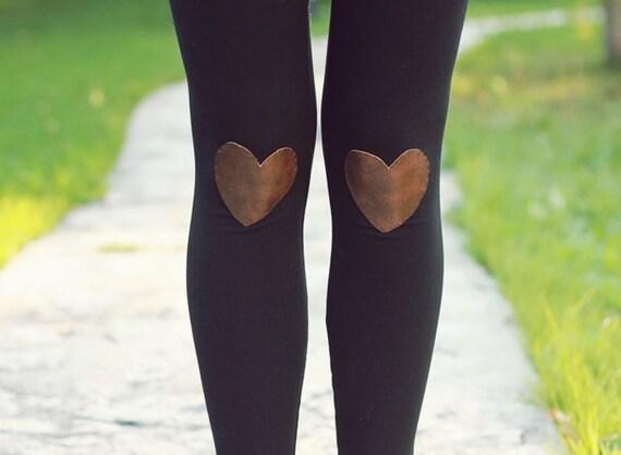 My Leather Heart Leggings // size medium