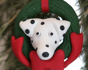 Dalmatian Dog Ornament