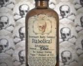Aftershave Diabolical Mens Nevermore Body Company Vanilla Tobacco Natural Vegan Sensitive