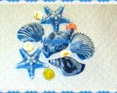Handmade beautiful gift soap set - ocean shells