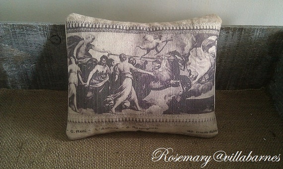 Roma Postcard Pillow