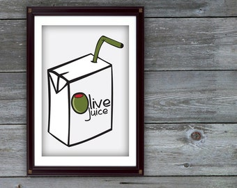 Olive Juice - I Love You Digital Print