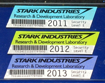 Stark Industries Parking Decal