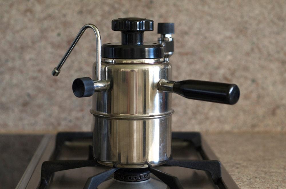 Stove Top Espresso Maker ~ Vintage vesubio stove top espresso cappuccino maker