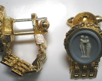 DANTE Cuff Links   The Kiss  Museum Masterpiece Collection.  Item No: 16033