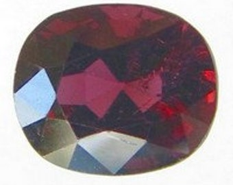 Natural Deep Purplish Red Spinel, Unheated, Antique Cut, 2.05 carats