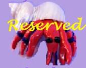 Custom Order: Reserved for Jessica