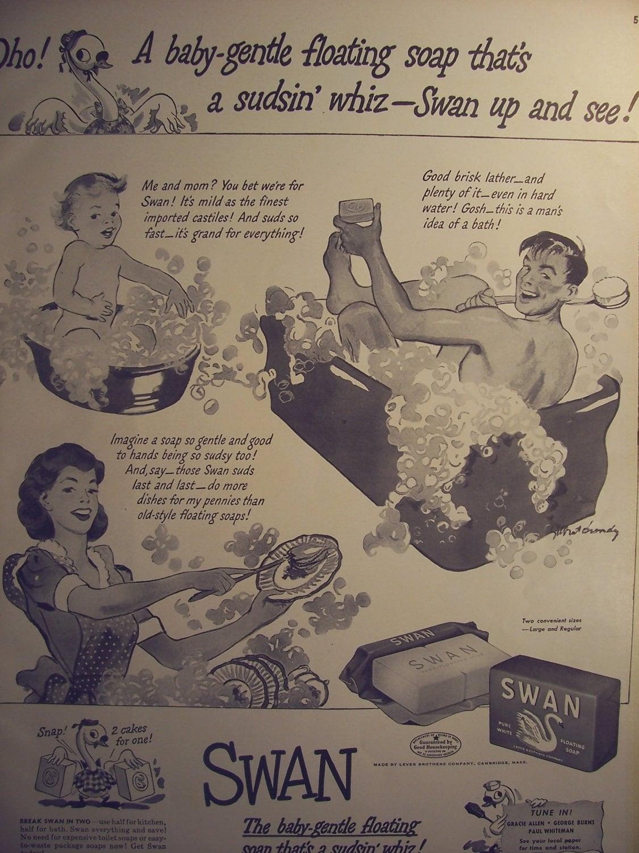Vintage Bathroom Ads - Item details