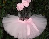 SALE-Baby Tutu Light Pink Tutu 1st Birthday Tutu First Birthday Tutu Cake Smash Tutu Newborn Tutu Infant Girls Tutu Toddler Tutu Ballerina