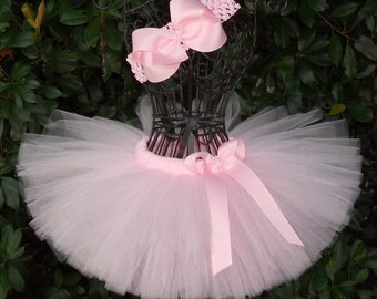 SALE-Baby Tutu Light Pink Tutu 1st Birthday Tutu First Birthday Tutu Cake Smash Tutu Newborn Tutu Infant Girls Tutu Toddler Tutu Ballerina