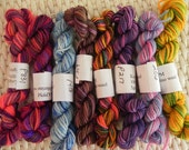 SALE   Koigu Mini Collection  - 8 skeins, total 40 gms, 184 yards