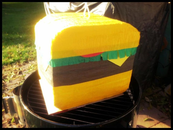 Cheeseburger Pinata