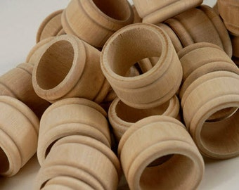 Wood Napkin Rings Sale