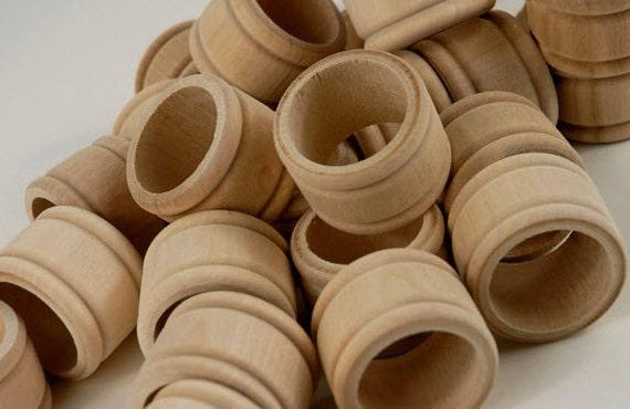 Wood Napkin Rings Sale