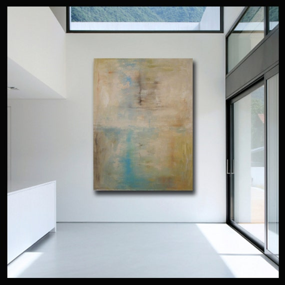"60"" Contemporary Original Modern Abstract Wall Decor Painting by Libby Fine Art"