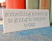 Something Amazing - notion